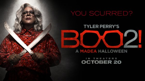 Win Tickets to see Tyler's Perry's Boo 2 A Madea Halloween ...