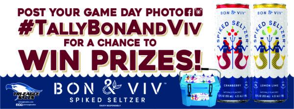None - Bon and Viv are giving away big prizes this football season!