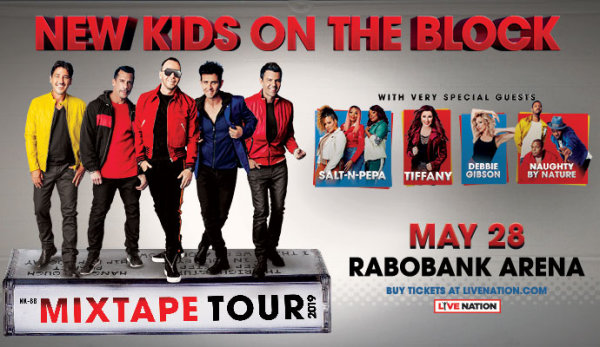 None -  New Kids On The Block: Mix Tape Tour 2019
