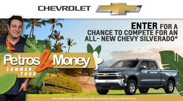 None -    Enter for a chance to compete for an All-New Chevy Silverado