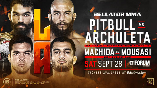 None - Bellator 228: Pitbull vs. Archuleta at The Forum (9/28) (4-pack)