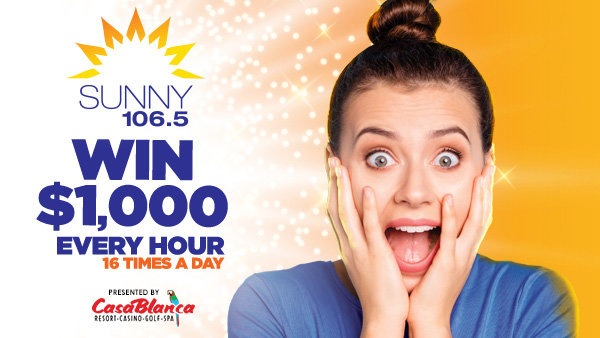None - Sunny 106.5 Wants To Pay Your Bills!