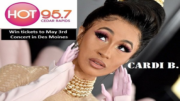 None - Cardi B in Des Moines May 3rd