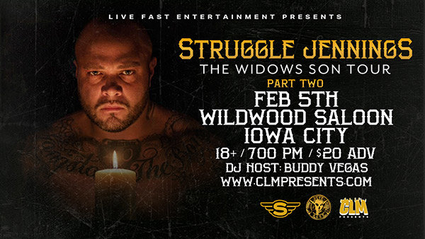 None - Win Tickets To See Struggle Jennings At Wildwood in Iowa City!