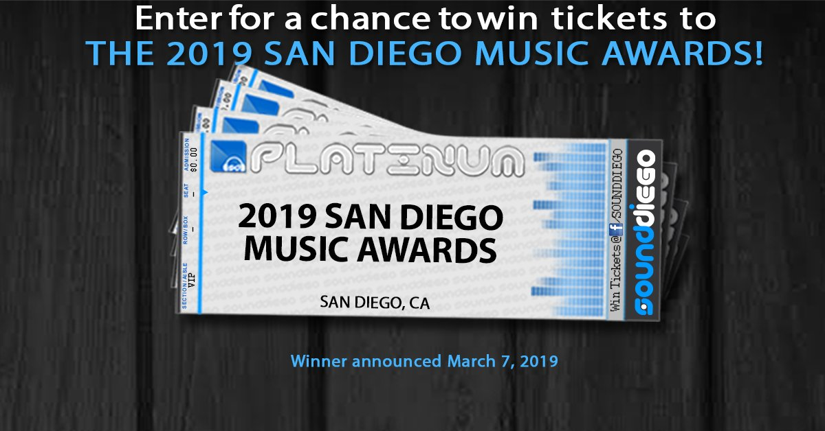 Win tickets to the 2019 San Diego Music Awards at House of Blues 2