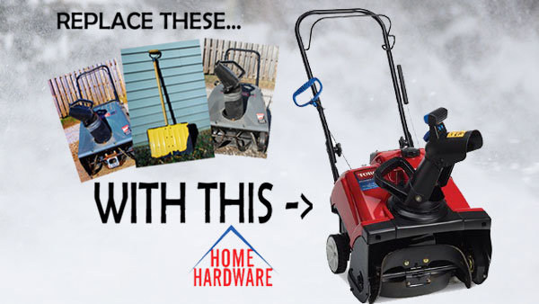 None - Win A Toro Snow Blower From Home Hardware