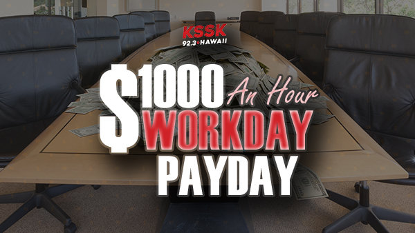 None - The $1000 An Hour Workday Payday!