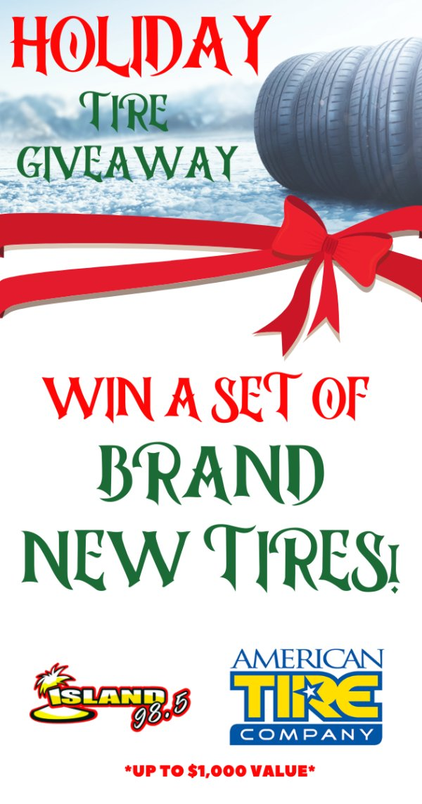 None - New Set of Tires Giveaway!