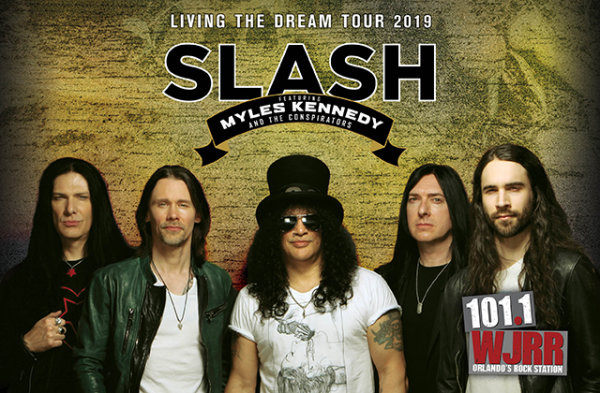 None - Enter to win two tickets to see Slash!