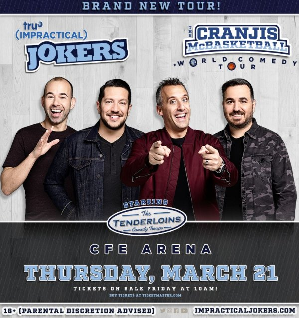 None - Win a Pair of Tickets to tru TV Impracitical Jokers Comedy Tour