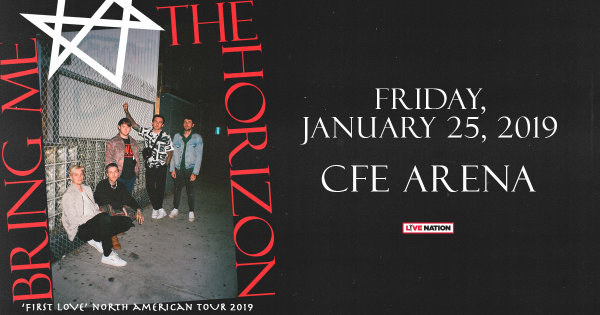 None - Win a pair of tickets to see Bring Me The Horizon
