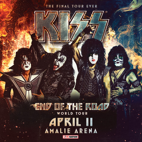None - KISS at the Amalie Arena