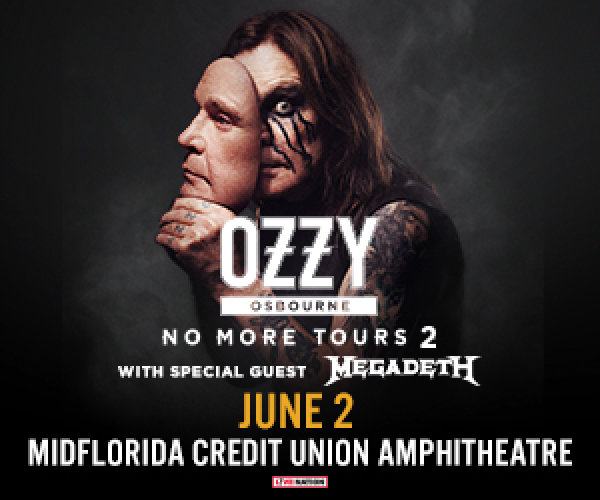 None - Enter to win tickets to Ozzy Osbourne at MIDFLORIDA Amp