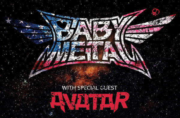 None - Enter for Your Chance to Win Two Tickets to BABYMETAL with Avatar
