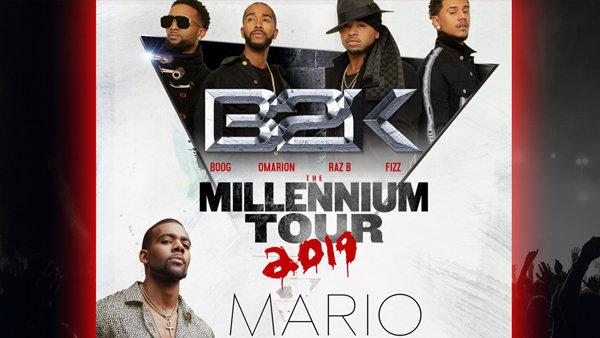 None - The Millennium Tour With B2K!