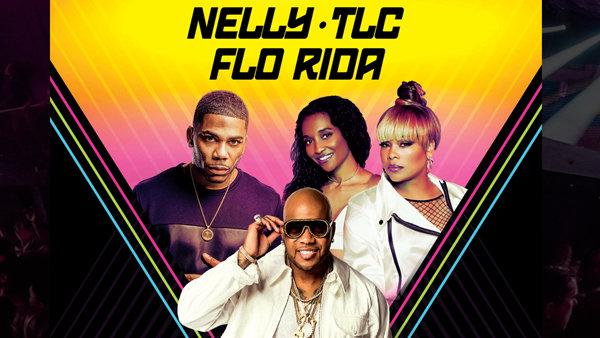 None - Nelly - TLC - Flo Rida LIVE!