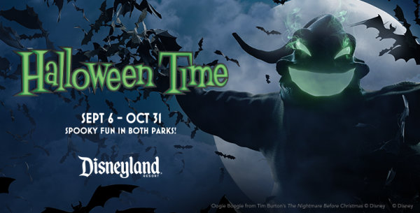None - Halloween Time At The Disneyland Resort!
