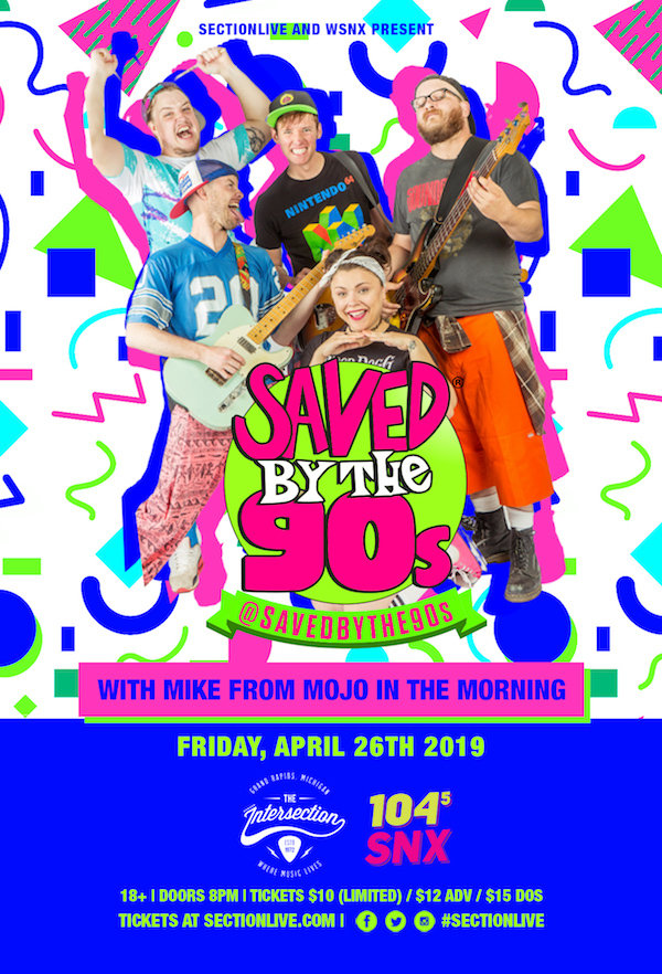 None - WIN Tickets To Saved By The 90's @ Intersection