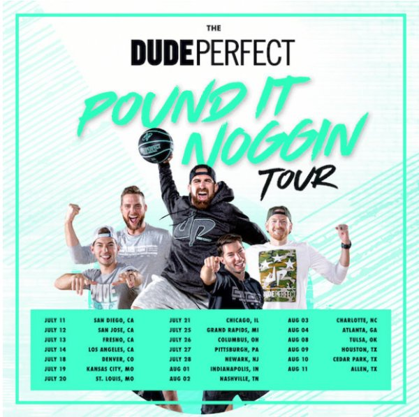 None - WIN Tickets to see Dude Perfect