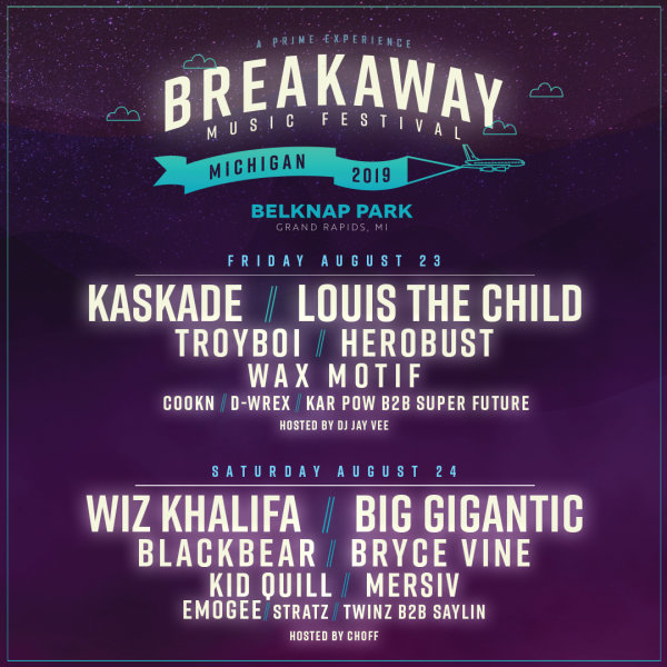 None - WIN Tickets To The Breakaway Music Festival!