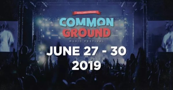 None - Win Common Ground Music Festival Tickets!
