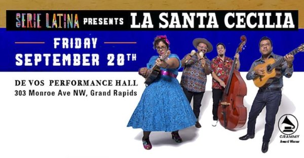 None - Win Serie Latina Presents La Santa Cecilia Tickets!