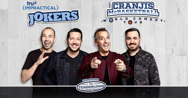 "None - Win truTV's Impractical Jokers ""Cranjis McBasketball World Comedy Tour"" Tickets!"