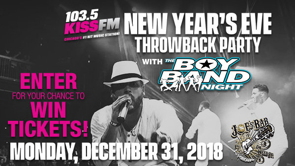 None -  Win Tickets to The New Year's Eve Throwback Party with the Boy Band Night