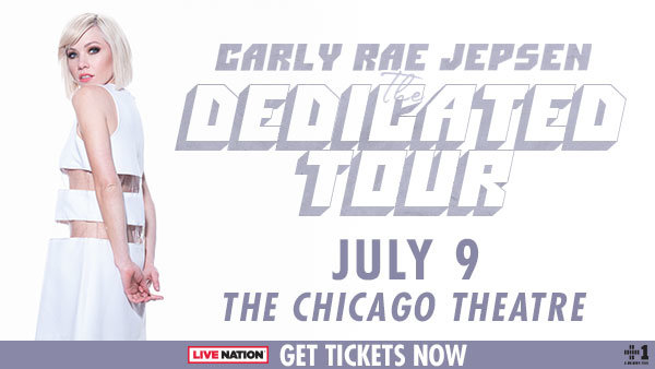 None -                     Win Tickets to Carly Rae Jepsen - THE DEDICATED TOUR