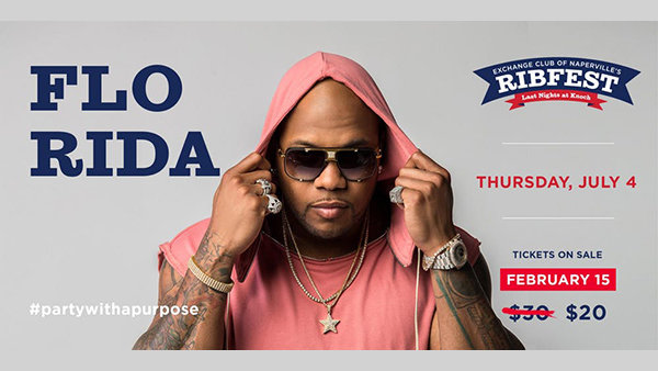 None -                         Win Tickets to FLO RIDA At Naperville's Ribfest