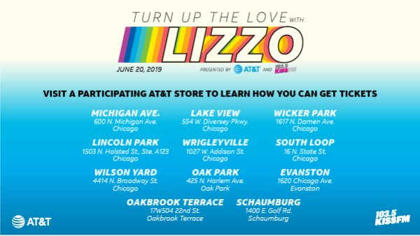 None - Enter below for you chance to win and celebrate Pride at Turn Up the Love with Lizzo, a one-night private event you don't want to miss!