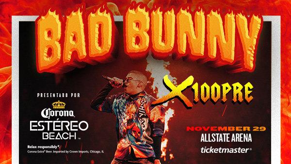None - Win LAST CHANCE Tickets to  Bad Bunny: X100Pre Tour