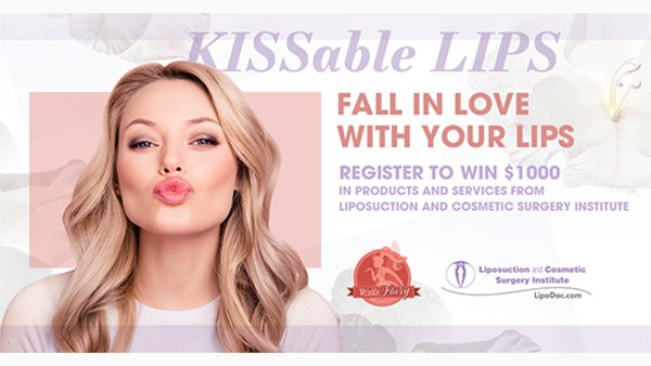 None - Register to win KISSable Lips from Liposuction and Cosmetic Surgery Institute's Wrinkle Fairy