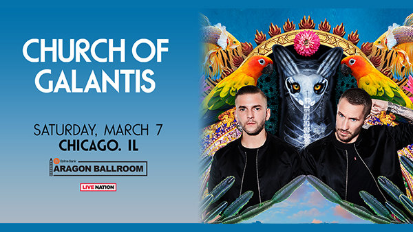 image for Win Tickets to Church of Galantis Tour 2020