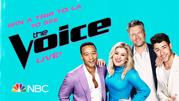 image for Win A Grand Prize Trip To A Live Taping Of The Voice