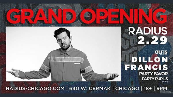 image for Win Tickets to Dillon Francis