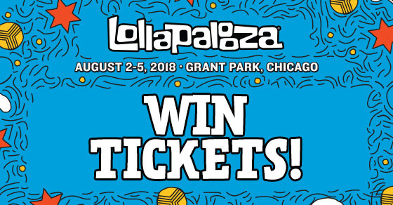 Win 4-Day Passes to Lollapalooza