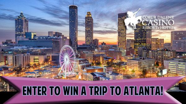 None - Enter to Win a Trip to Atlanta!