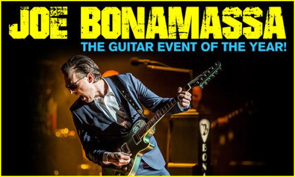 None - Win tickets to Joe Bonamassa!