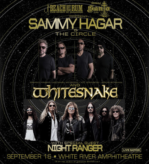 None - Win it before you can buy it! Enter to win a pair of tickets to see Sammy Hagar & the Circle!