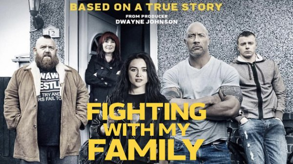 None - Win tickets to see Fighting With My Family courtesy of Fandango