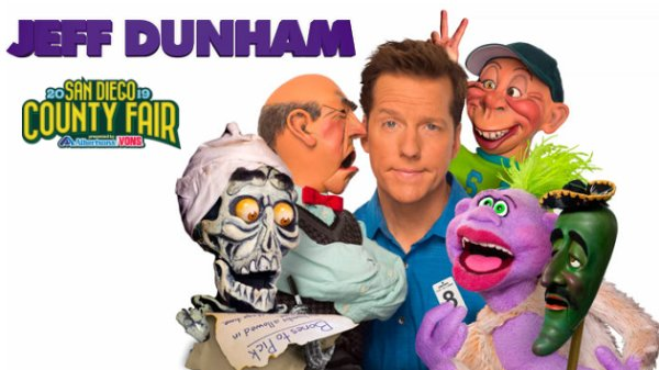 None - Win tickets to Jeff Dunham at San Diego County Fair