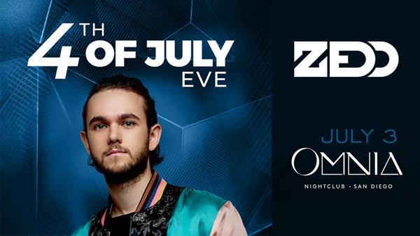 None - Win VIP Access to ZEDD at OMNIA Nightclub San Diego