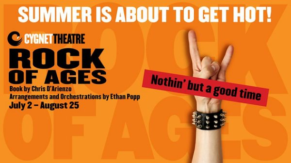 None - Win tickets to Rock Of Ages at Cygnet Theatre