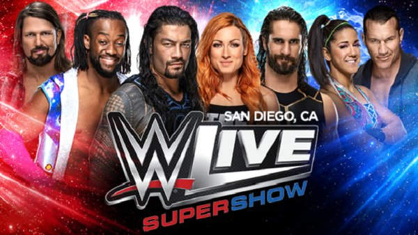 None - Win WWE Live Supershow Tickets