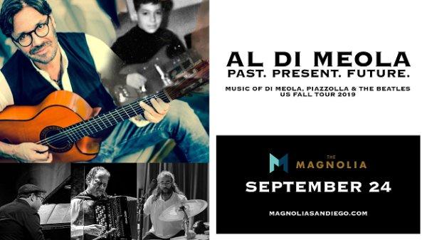 None - Win tickets to Al Di Meola at The Magnolia