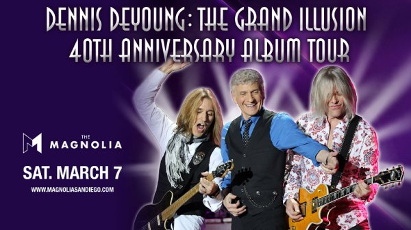 None - Win tickets to Dennis DeYoung at The Magnolia