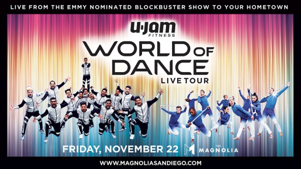None - Win tickets to World Of Dance Live! Tour at The Magnolia