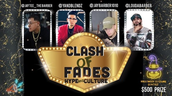 None - Win tickets to Clash of Fades Barber Competition
