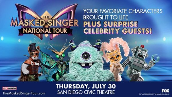 image for Win tickets to The Masked Singer Tour